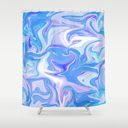 Summer Sky Is Hugging You Shower Curtain