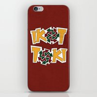 philippines iPhone & iPod Skins featuring IkoToki: University of the Philippines, Diliman by Franchie