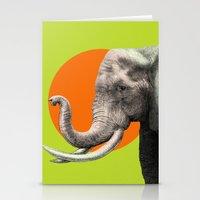 eric fan Stationery Cards featuring Wild 6 by Eric Fan & Garima Dhawan by Garima Dhawan