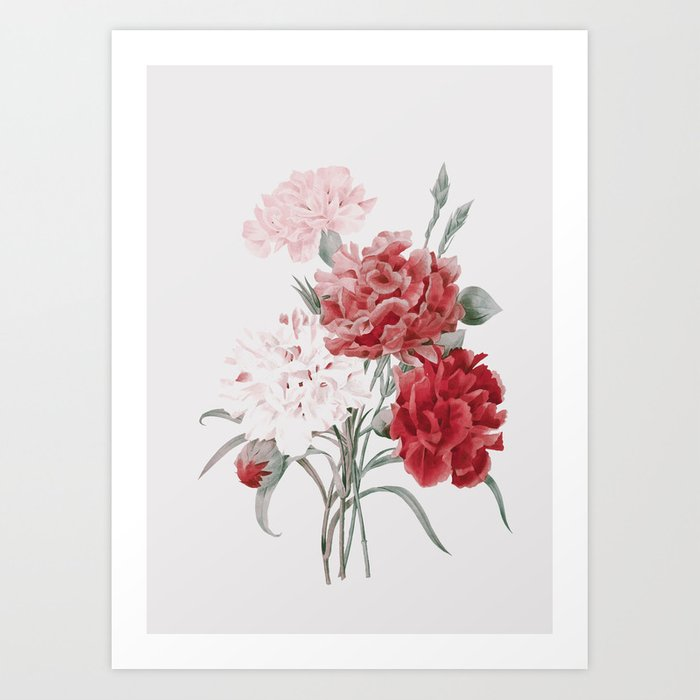 Discover the motif PEONIES by Andreas12  as a print at TOPPOSTER