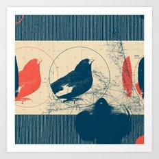 Fragments Tile 4/12 Art Print
