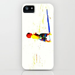 Straight Ahead to a Wonderful World! iPhone Case