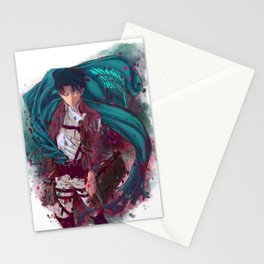 Attack On Titan - Levi Ackerman (Version 2/5) Stationery Cards