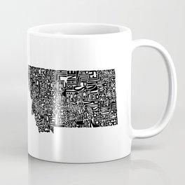 Typographic Montana Coffee Mug