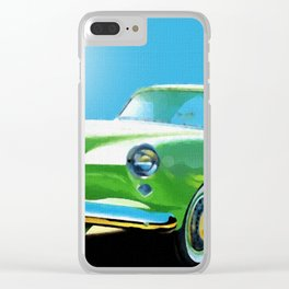1954 Kaiser Darrin Clear iPhone Case