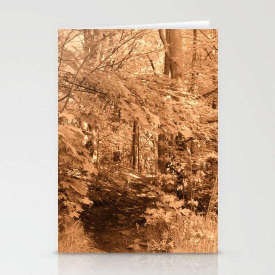 The Path to Tranqillity Stationery Cards