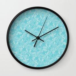 Fruit Cocktail Print Wall Clock