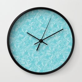 Fruit Cocktail Print Wall Clock