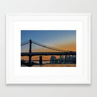 dumbo Framed Art Prints featuring DUMBO   by Through the Eyes of my Lens