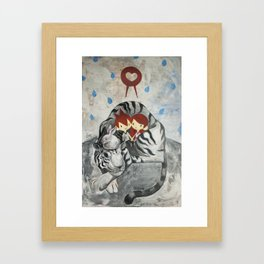 Gracious Rain Framed Art Print