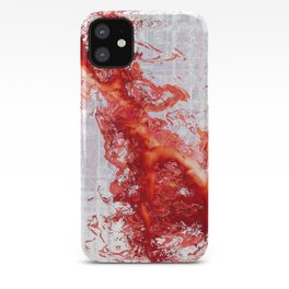 The Red Figure iPhone Case