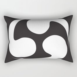 Japanese curve Rectangular Pillow