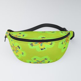 Lime Emily Claire Fanny Pack
