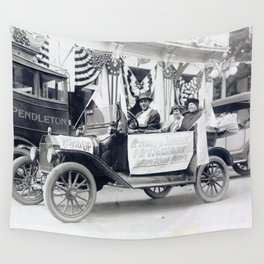 Women's Suffrage Movement in Oregon (September 23, 1916) Wall Tapestry