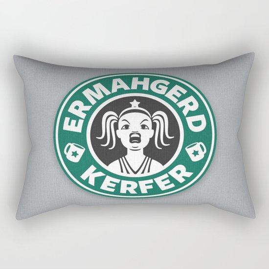 Ermahgerd, Kerfer! Rectangular Pillow