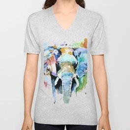 Animal painting Unisex V-Neck