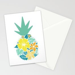 Pineapple Flower Towel Stationery Cards