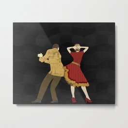 Free Style Dance Party Metal Print