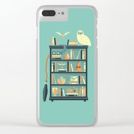 Potter Shelf | Rowling Clear iPhone Case