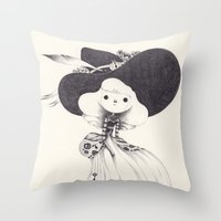 key Throw Pillows featuring key by yohan sacre