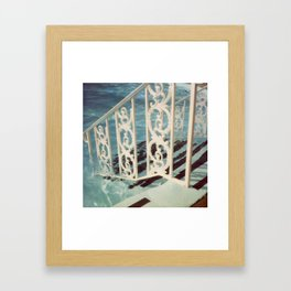 Swimming At The Grand Part 8 Framed Art Print
