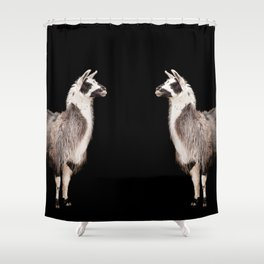 LAMA ( LLAMA) Shower Curtain