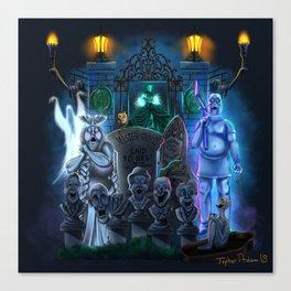 Graveyard Mayhem by Topher Adam Canvas Print