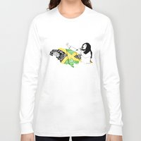 jamaica Long Sleeve T-shirts featuring Jamaica -  Freedom Time by Art & Be