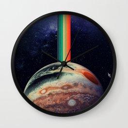 Retro Jupiter Wall Clock
