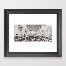 Grand Central Ants Framed Art Print
