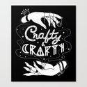 Crafty & Crafty - B&W by elisnaggletooth