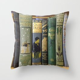 Decorated Spines I Throw Pillow