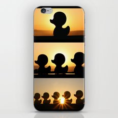Ducks Ducks Ducks! iPhone & iPod Skin