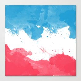 Love of France Canvas Print