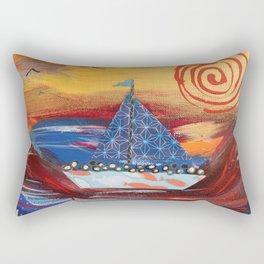 Pilgrims Journey Rectangular Pillow