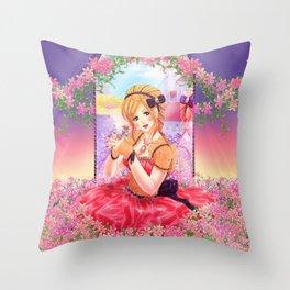 Jewel Princess Throw Pillow