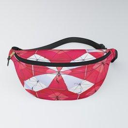 Red Umbrella Skies Fanny Pack