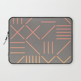 Geometric Shapes 12 Gradient Laptop Sleeve