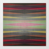 rug Canvas Prints featuring Rug by SensualPatterns