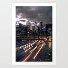 Before the Storm Art Print