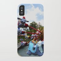 dumbo iPhone & iPod Cases featuring Dumbo Ride by Around The Park