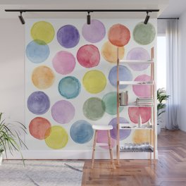 impulsive dots Wall Mural