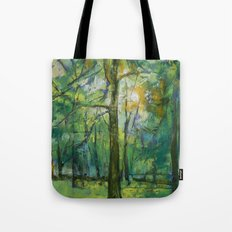 Emerald Twilight Tote Bag