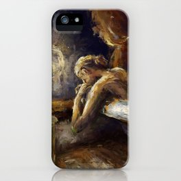 The Burnout. iPhone Case