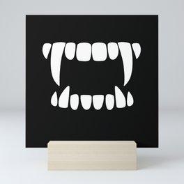 Vampire Teeth Mini Art Print