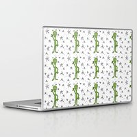 aliens Laptop & iPad Skins featuring Aliens by Bohemian Bear by Kristi Duggins
