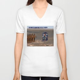 Doctor Who and the Martian Warriors 2020 Unisex V-Neck