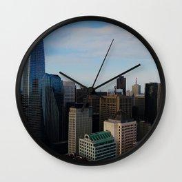 SF Skyscrapers Wall Clock