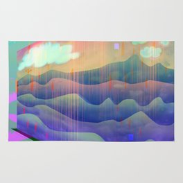 Sea of Clouds for Dreamers Rug