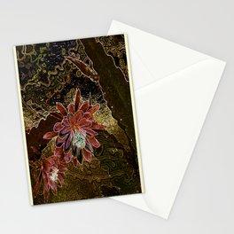 Night Cactus Bronze Stationery Cards
